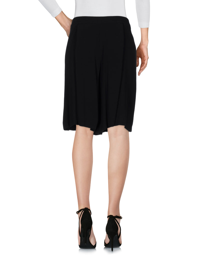 See By Chloé Black Wide Leg Shorts