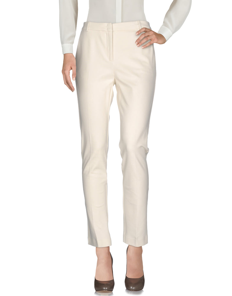 Pinko Beige Slim Fit Tailored Trousers