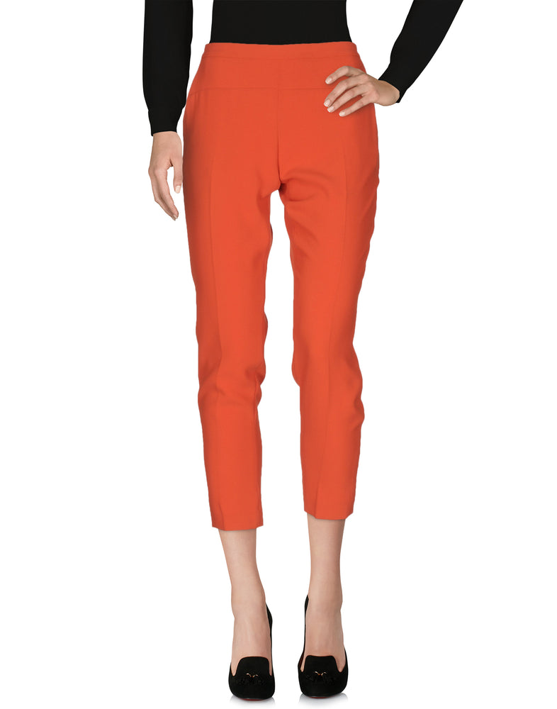 Pinko Orange Mid Rise Tailored Trousers