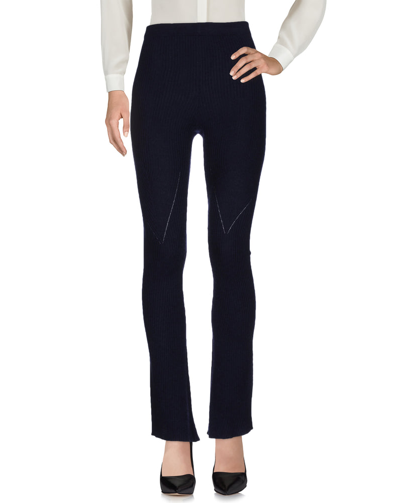 Pinko Dark Blue Regular Fit Fashion Trousers