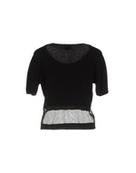 Pinko Black Short Sleeve Knitted Jumper