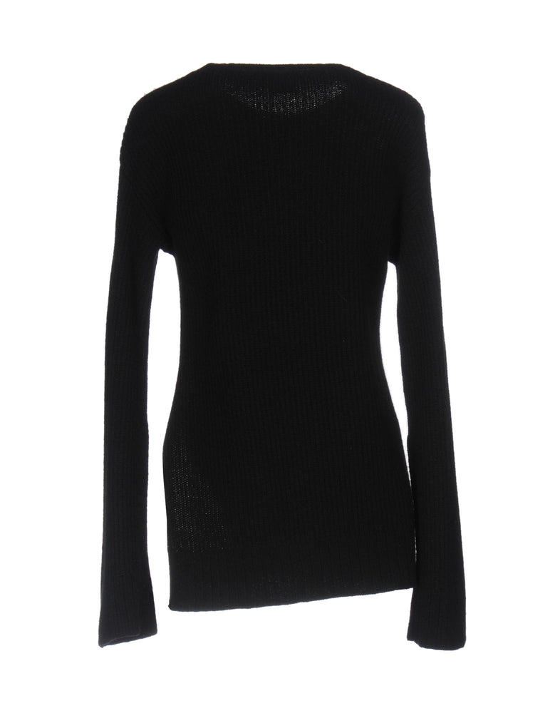 Pinko Black Long Sleeve Knitted Jumper