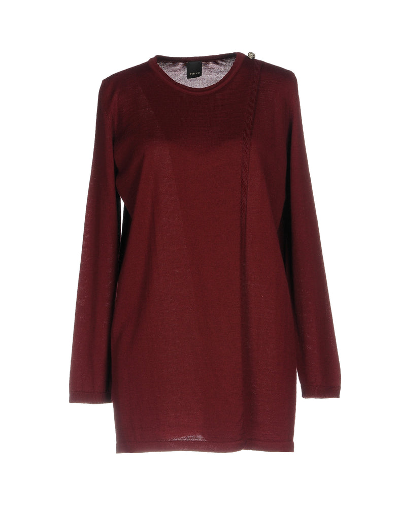 Pinko Maroon Long Sleeve Jumper