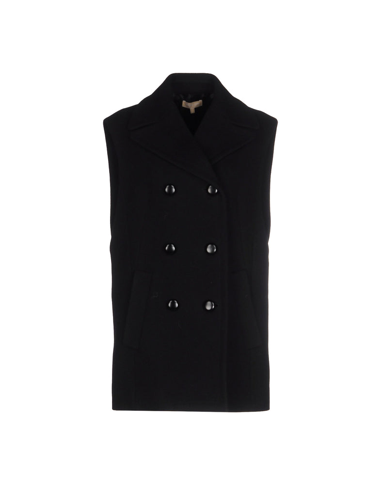 Michael Kors Black Double Breasted Coat