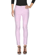 Pinko Pink Denim Low Waist Slim Fit Jeans