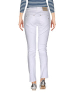 Dondup White Denim Slim Fit Jeans