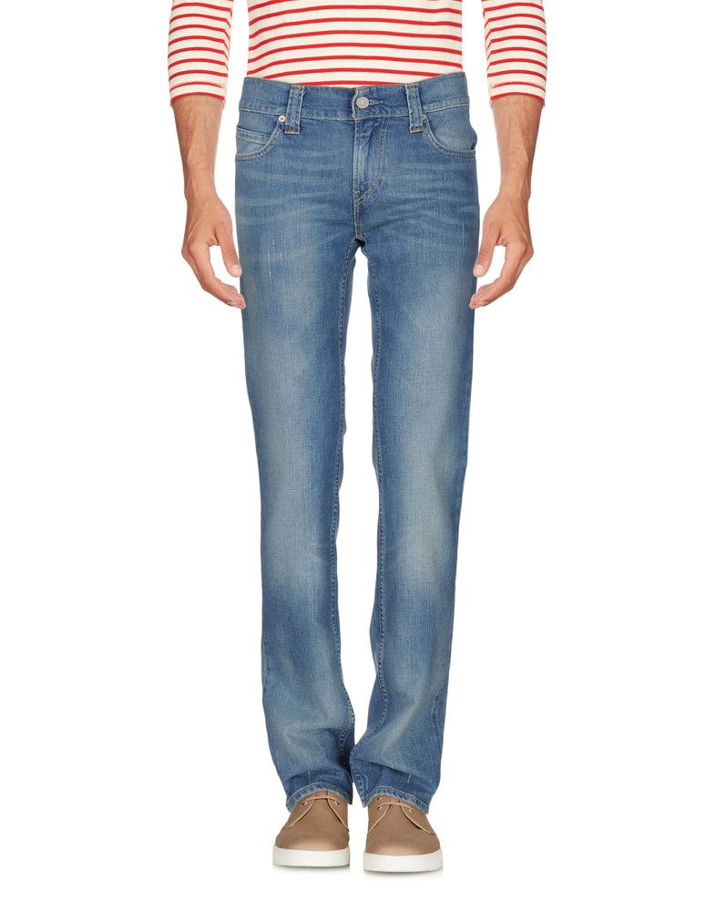 Levi's Red Tab Blue Denim Worn Effect Jeans