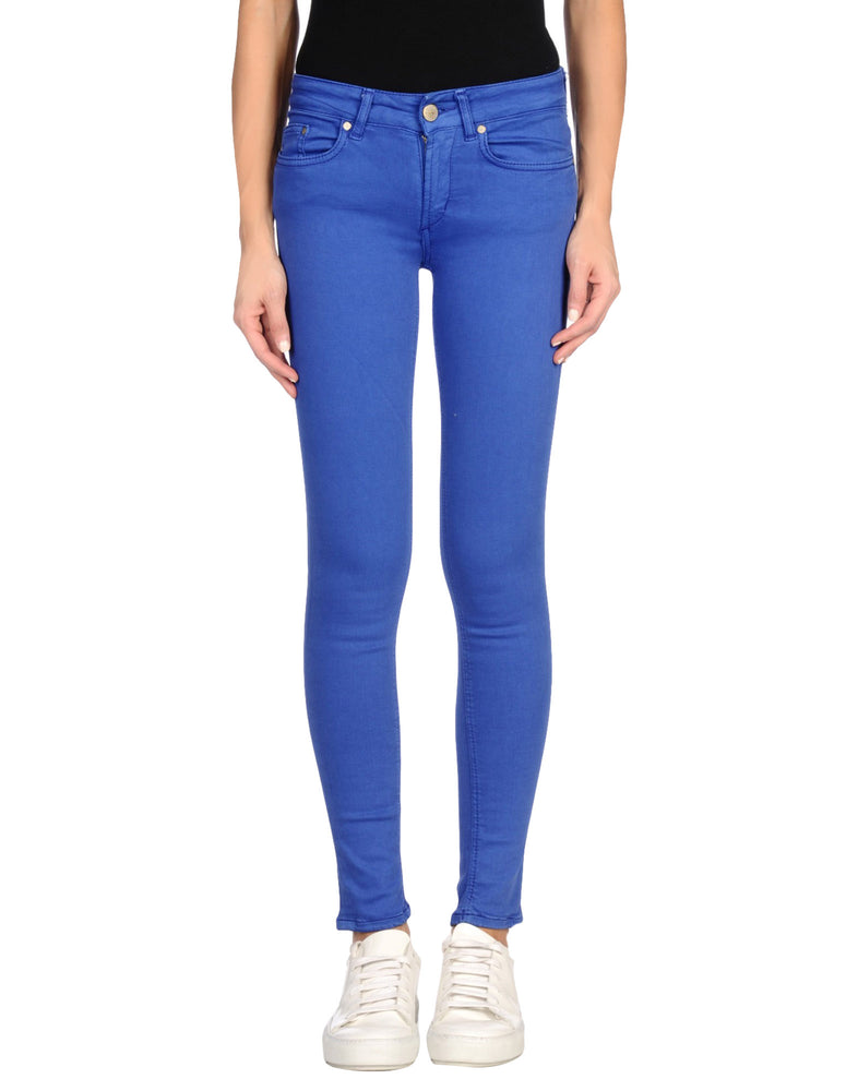 Dondup Bright Blue Denim Slim Fit Jeans