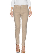 Pinko Washed Beige Denim Slim Fit Jeans