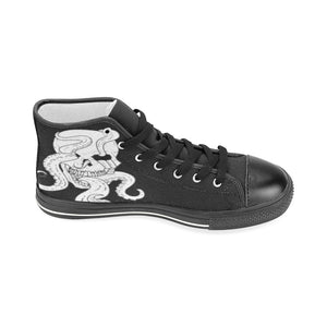 Octopus Skull Canvas Shoes