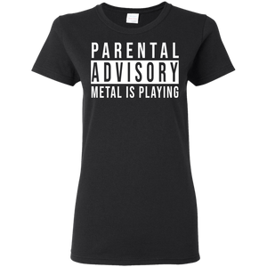 Parental Advisory Ladies' Tee