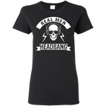 Real Men Headbang Ladies' Tee