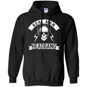Real Men Headbang Hoodie