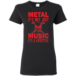 Metal Music Ladies' Tee