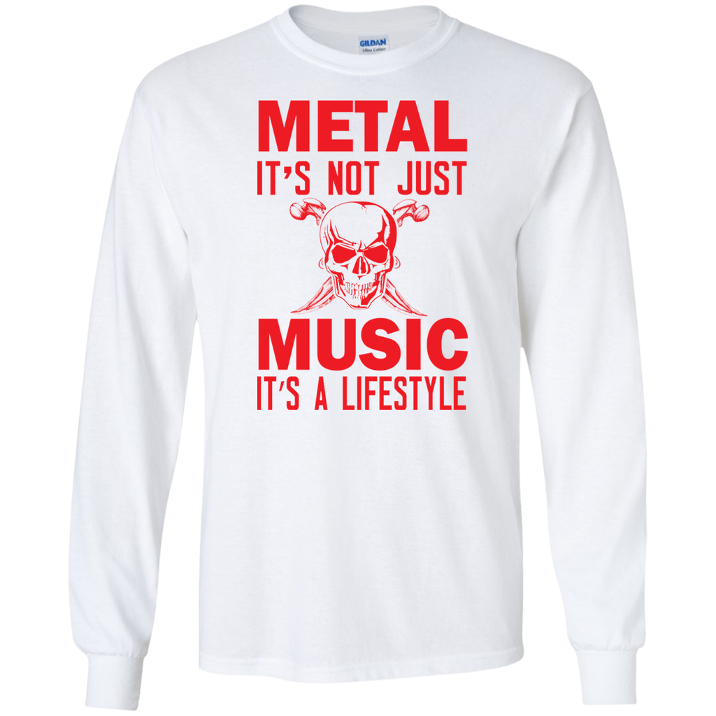 Metal Music Long Sleeve