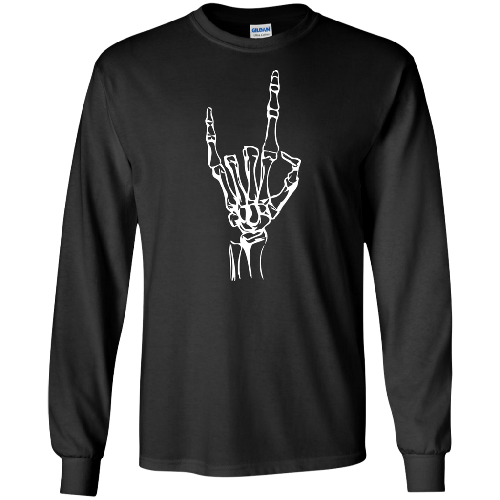 Black Devil Horns Long Sleeve
