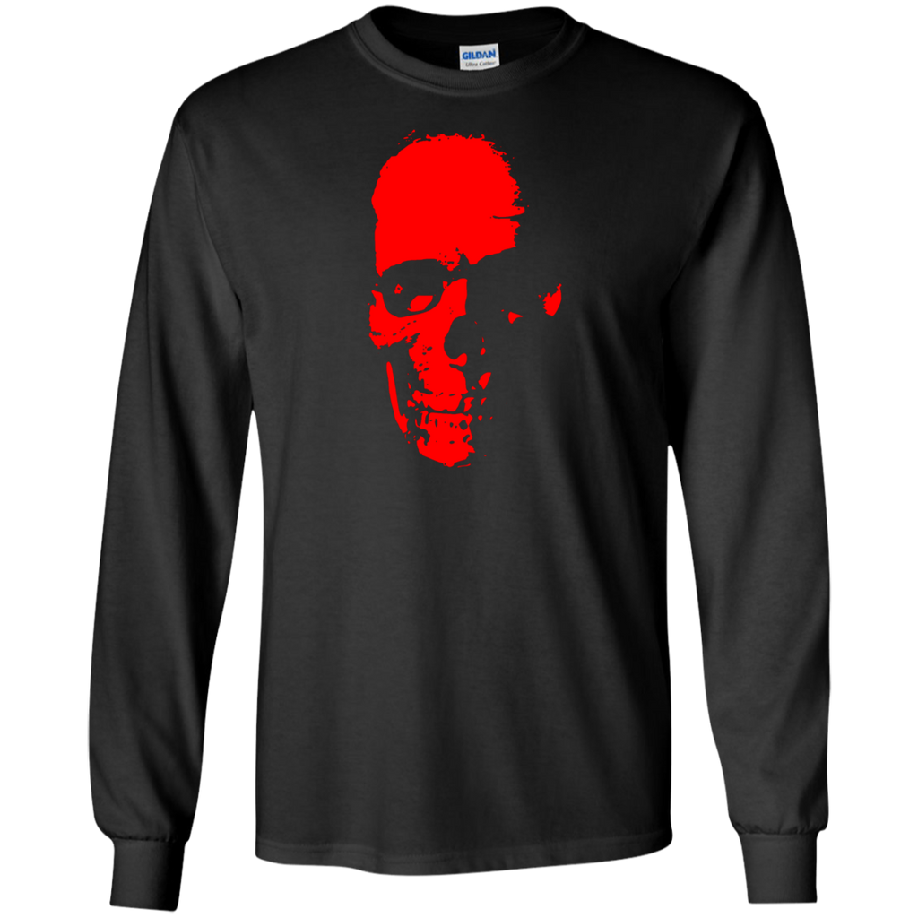 Red Skull Long Sleeve