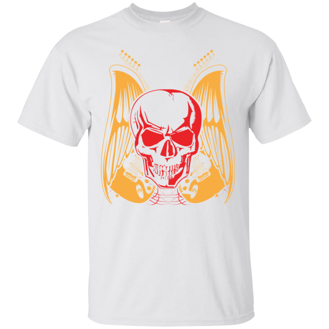 Skull Guitar Men's Shirt