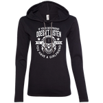 Boyfriend/Girlfriend Ladies' Hooded Long Sleeve
