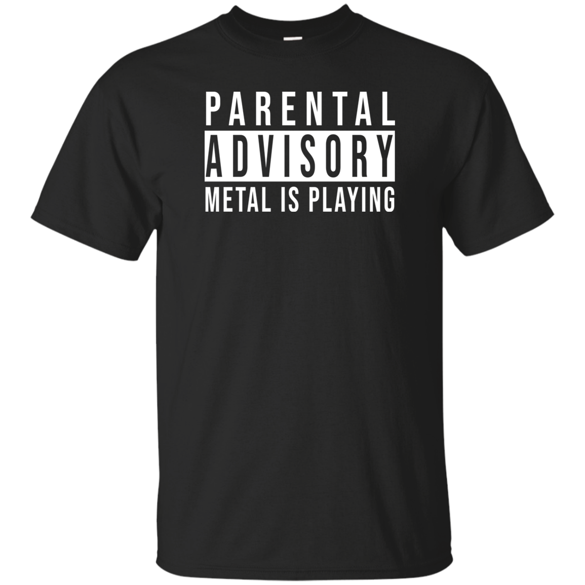 Parental Advisory Men's Tee