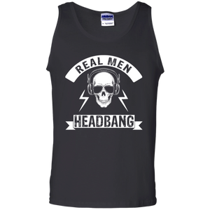 Real Men Headbang Tank