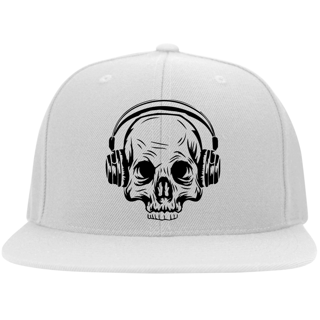 Skull Headphones Hat
