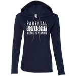 Parental Advisory Ladies' Hooded Long Sleeve