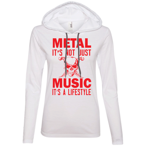 Metal Lifestyle Ladies' Hooded Long Sleeve