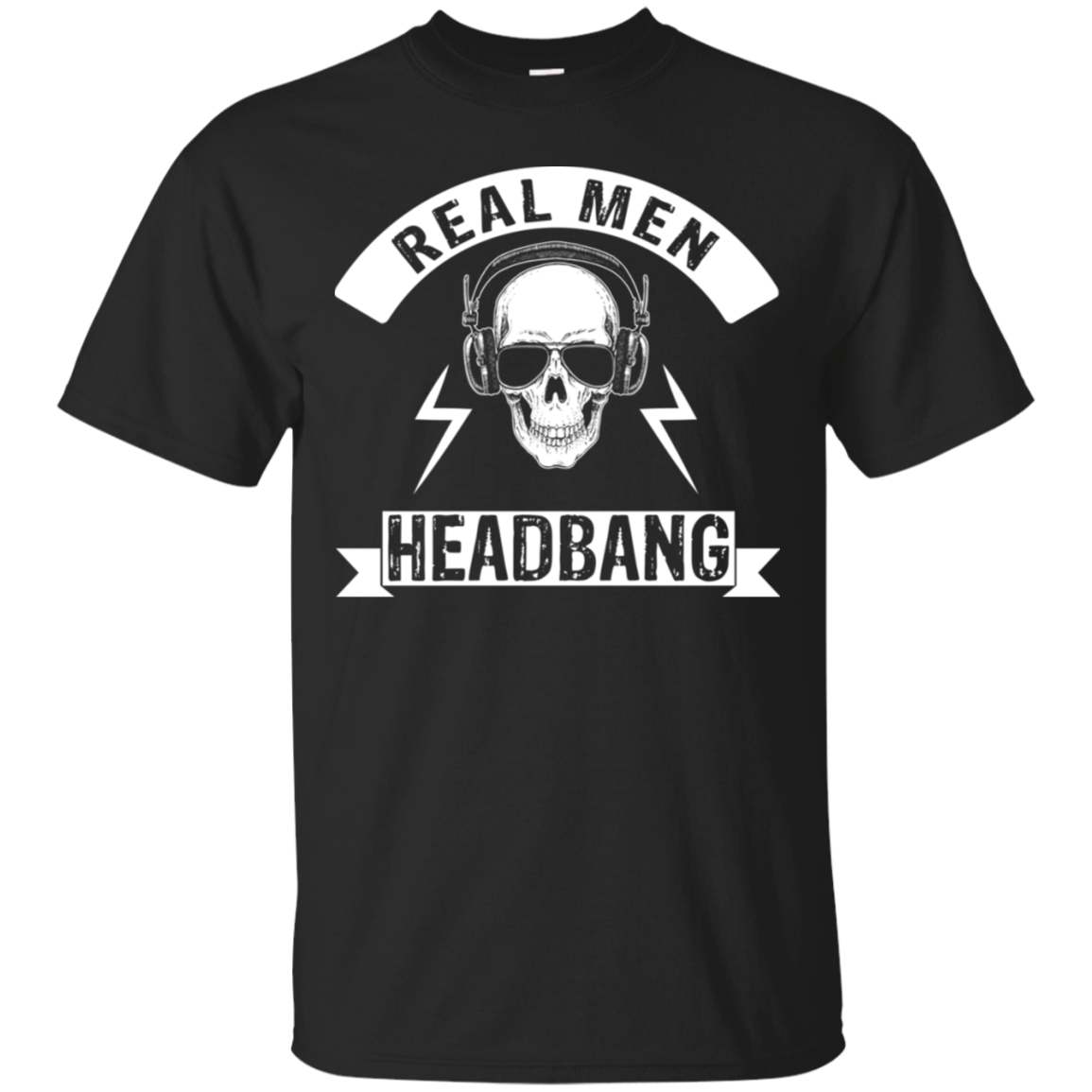Real Men Headbang Shirt