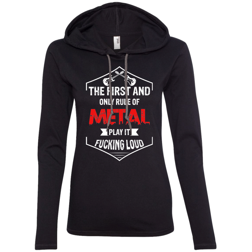 Loud Ladies' Hooded Long Sleeve