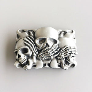 Speak No Evil Belt Buckle