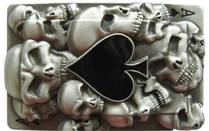 Ace of Spades Belt Buckle