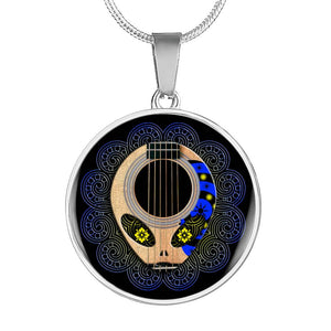 Alien Guitar Necklace