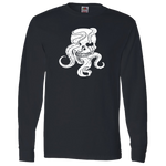 Octopus Skull Long Sleeve Tee