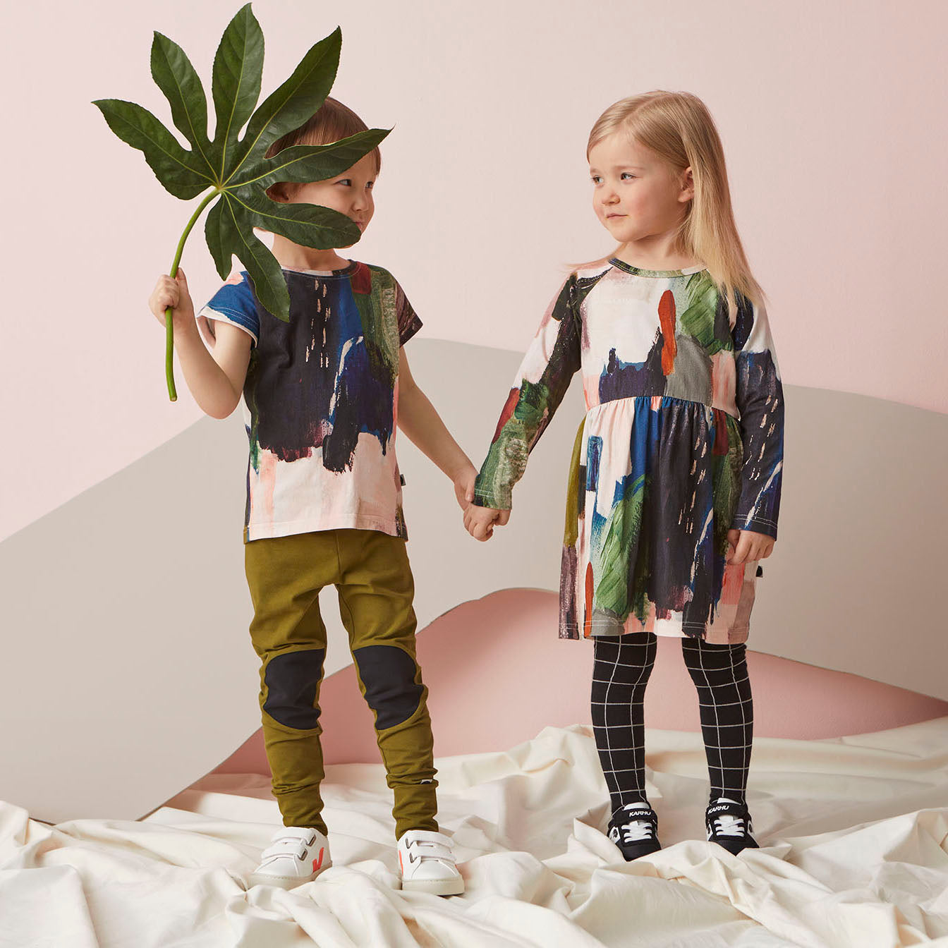 Papu Design AW2021 kid's collection sustainable fashion