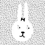 papu free colouring page bunny