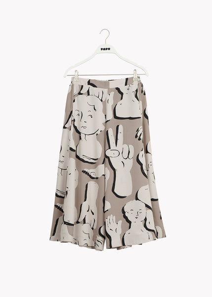 MIDI CIRCLE CULOTTES, Sculptures, Women