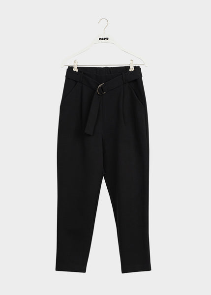 DRESSY TROUSERS, Black, Women