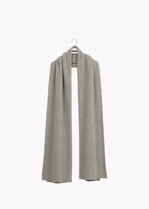 GIANT SCARF, Melange Grey, Women