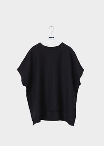 LINEN SHIRT, Black, Women