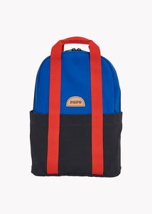 MINI KIVI BACKPACK, Vivid Blue/Black/Lava Red