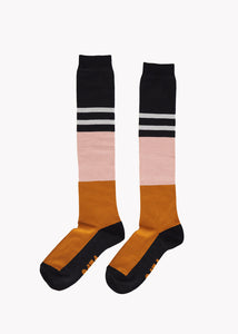 KNEE HIGH, Black/Brown/Pink/Grey, Women