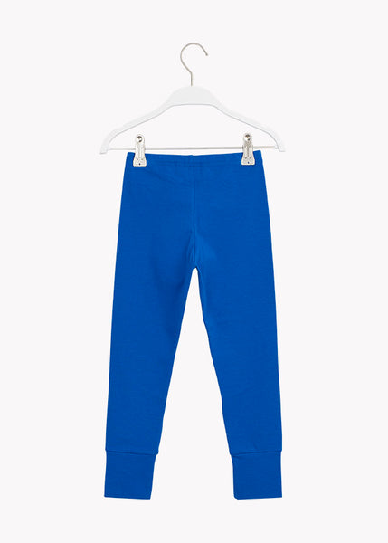 PATCH LEGGINGS, Vivid Blue/Black