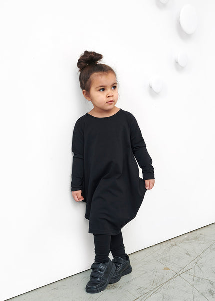 KANTO DRESS, Black