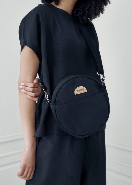 KIVI CIRCLE BAG, Black