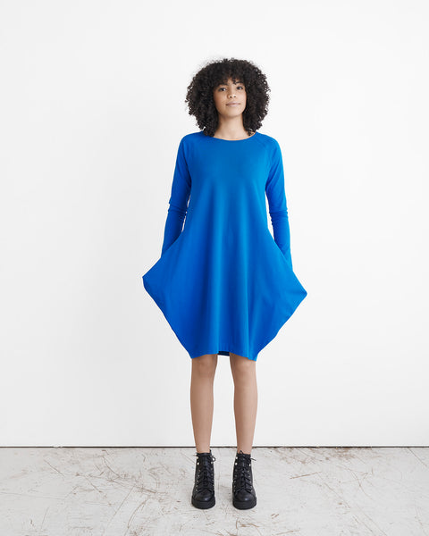 KANTO DRESS, Vivid Blue, Adults