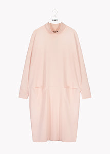 TURTLE GIANT SPLIT DRESS, Heather Pink, Women