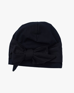 Papu accessories Mila bow beanie black