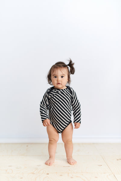 STRIPE BODY, Black, Sand