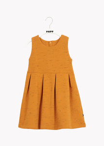 VEST DRESS, Earth Brown, Streak Effect